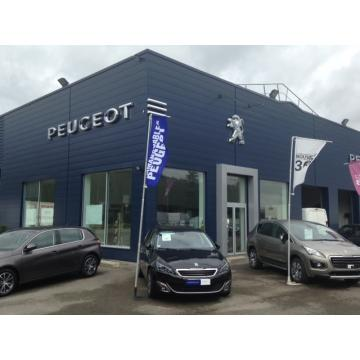 Visuel Peugeot Garage MC Automobiles  Agent