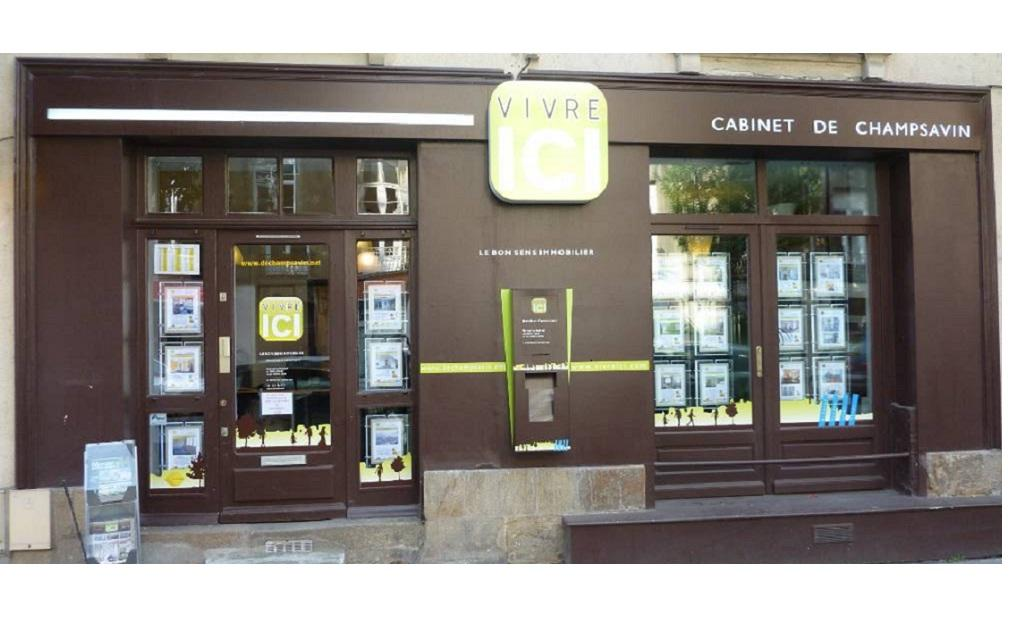Vivre ici cabinet de champsavin agence immobili re 42 for Agence immobiliere 42