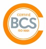 Certifié BCS Iso 9001