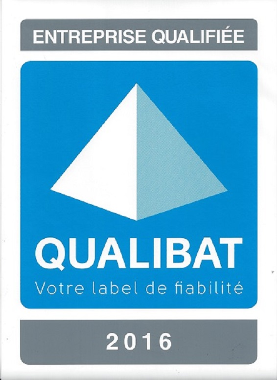 Logo de QUALIBAT attribution 4582