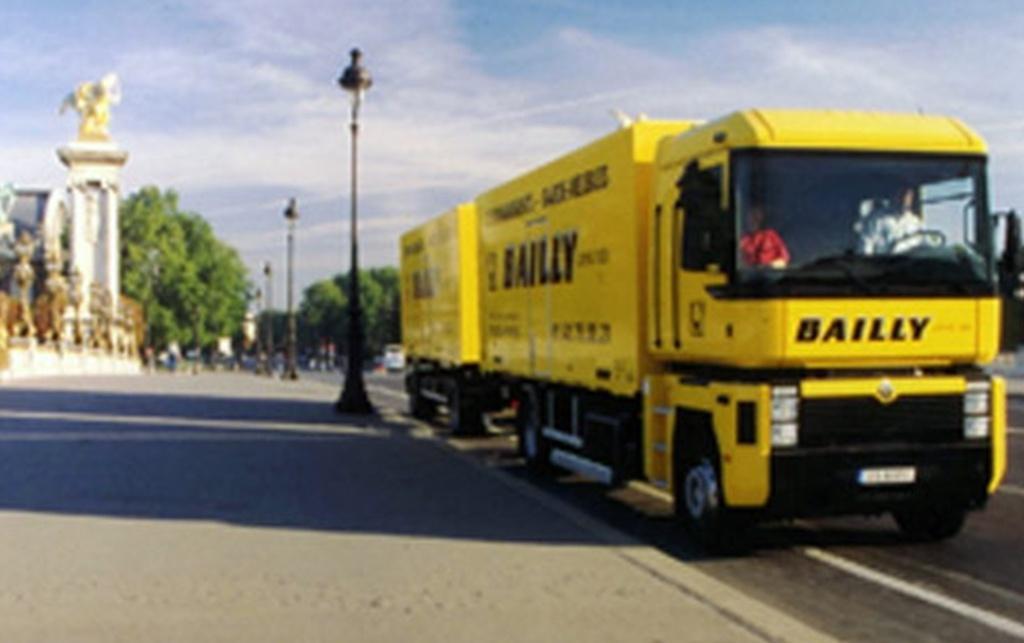 Bailly - Déménagement professionnel - Paris
