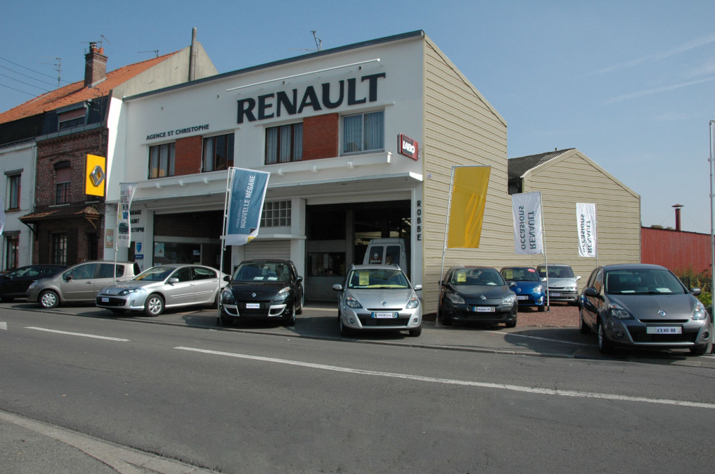 Renault garage saint christophe agent garage automobile for Garage renault st ouen du tilleul