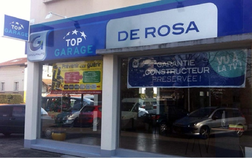 Top garage garage de rosa garage automobile 11 rue paul for Feu vert echirolles comboire
