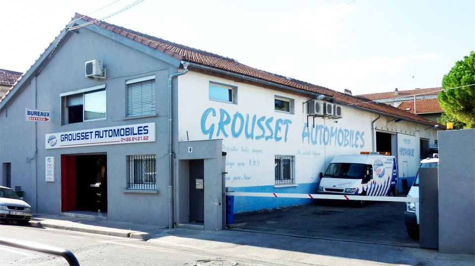 grousset automobiles garage automobile 4 rue du docteur calmette 30000 n mes adresse horaire. Black Bedroom Furniture Sets. Home Design Ideas