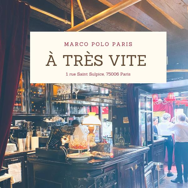 Marco Polo - Restaurant - Paris