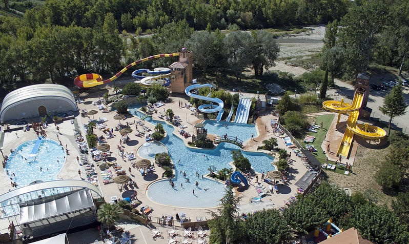 Camping Le Sagittaire - Infrastructure sports et loisirs - Vinsobres
