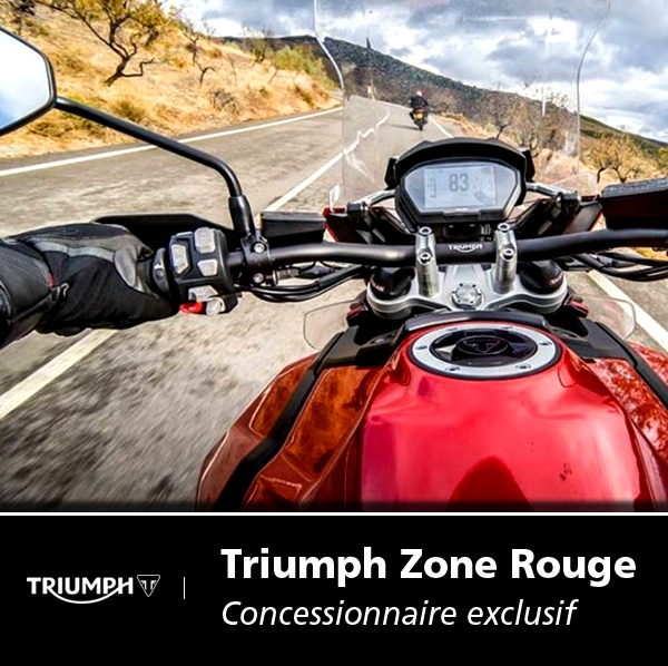 triumph zone rouge agent concessionnaire motos et scooters 6 rue gutenberg 33700 m rignac. Black Bedroom Furniture Sets. Home Design Ideas