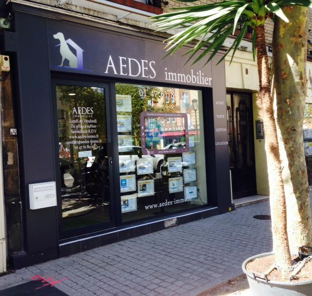 Aedes immobilier agence immobili re 1 rue de clamart for Agence immobiliere 3f boulogne billancourt