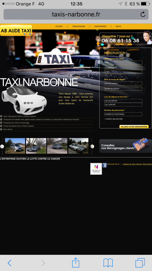 Ac Aude Taxi - Taxi - Narbonne