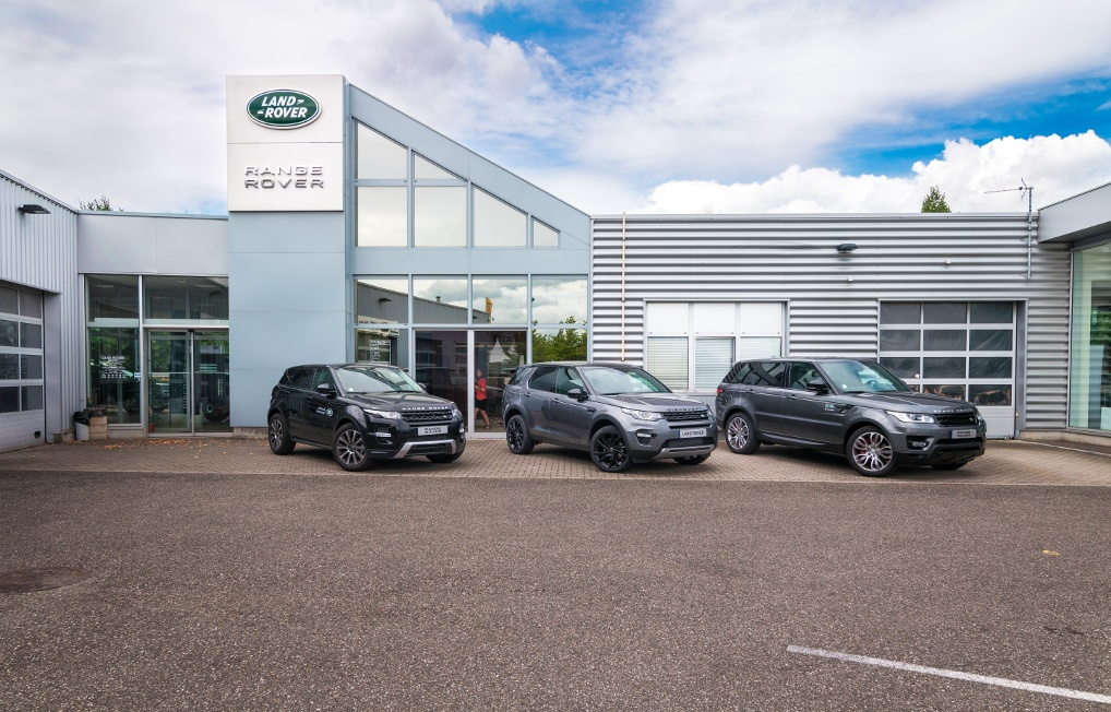 land rover everline distrib exclusif garage