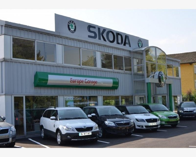 Skoda europe garage oyonnax garage automobile 10 rue de for Garage skoda nord