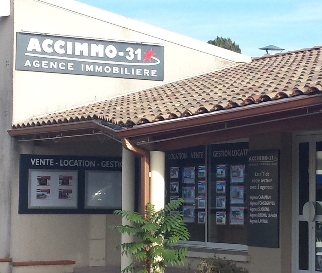Accimmo 31 agence immobili re 28 avenue de toulouse for Agence immobiliere 31