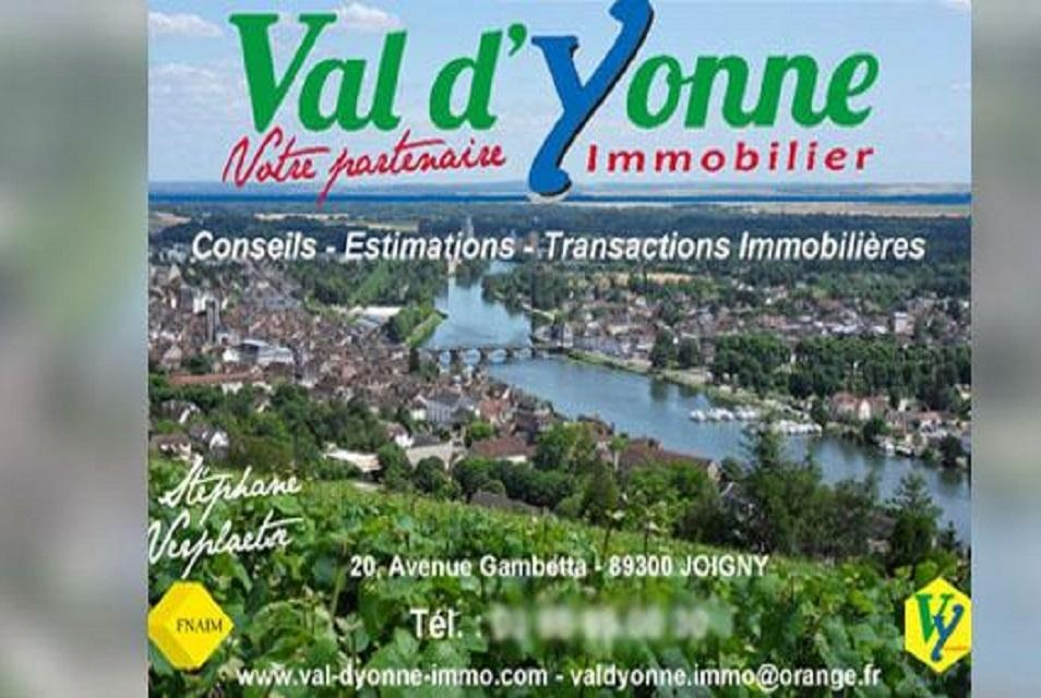 Val d 39 yonne immobilier agence immobili re 20 avenue for Agence immobiliere joigny
