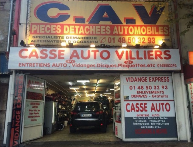 Pi ces auto seine saint denis 93 trouvez un for Garage audi saint ouen