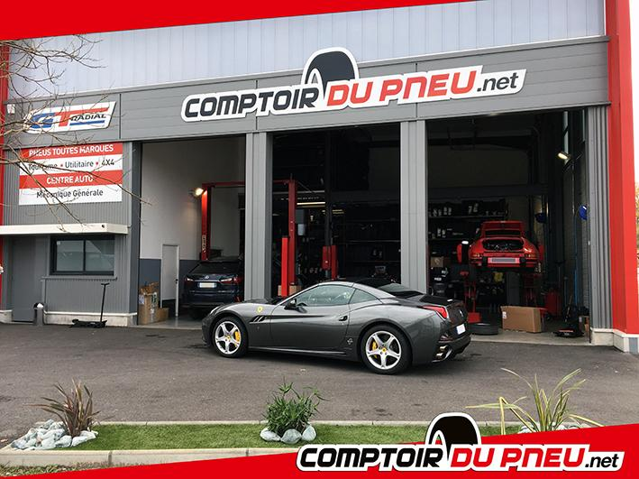 comptoir du pneu garage automobile zone industrielle du