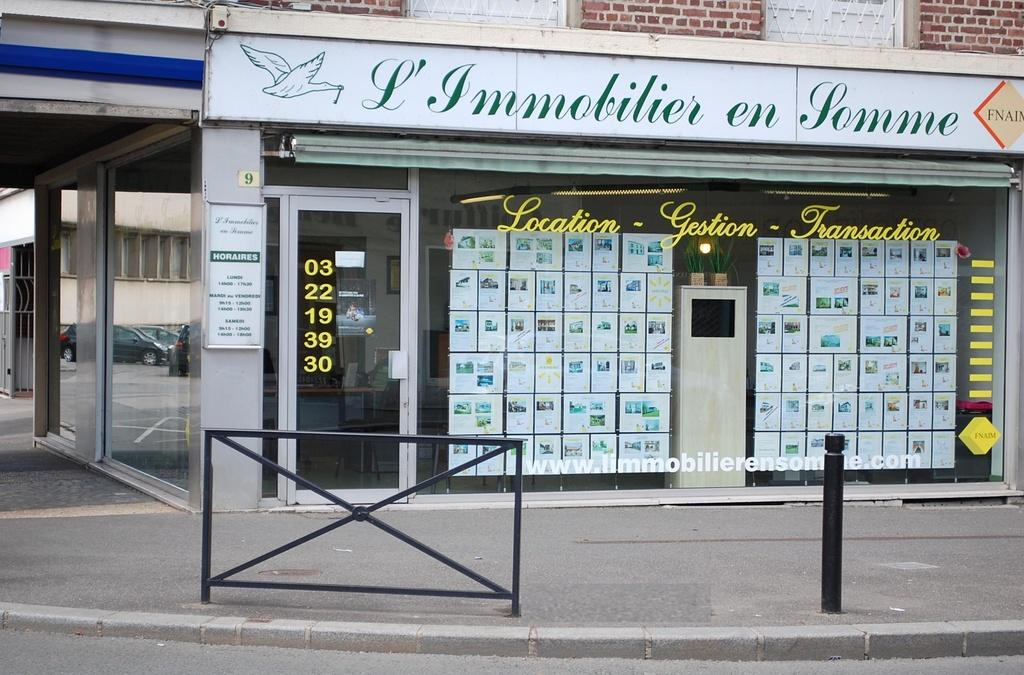 L 39 immobilier en somme agence immobili re 9 rue lingers for Agence immobiliere pour location appartement