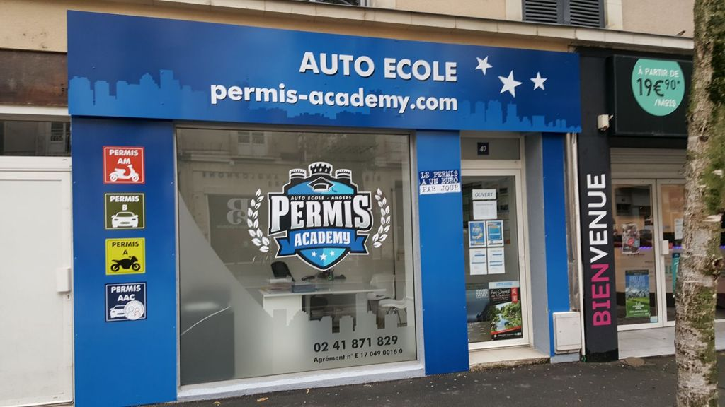 permis academy auto cole 47 rue boisnet 49000 angers adresse horaire. Black Bedroom Furniture Sets. Home Design Ideas