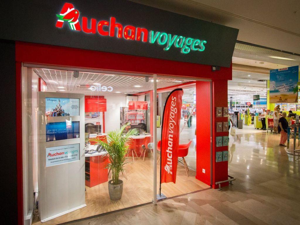 Carte Auchan Belgique.Agence Auchan Voyages Agence De Voyages 1158 Route