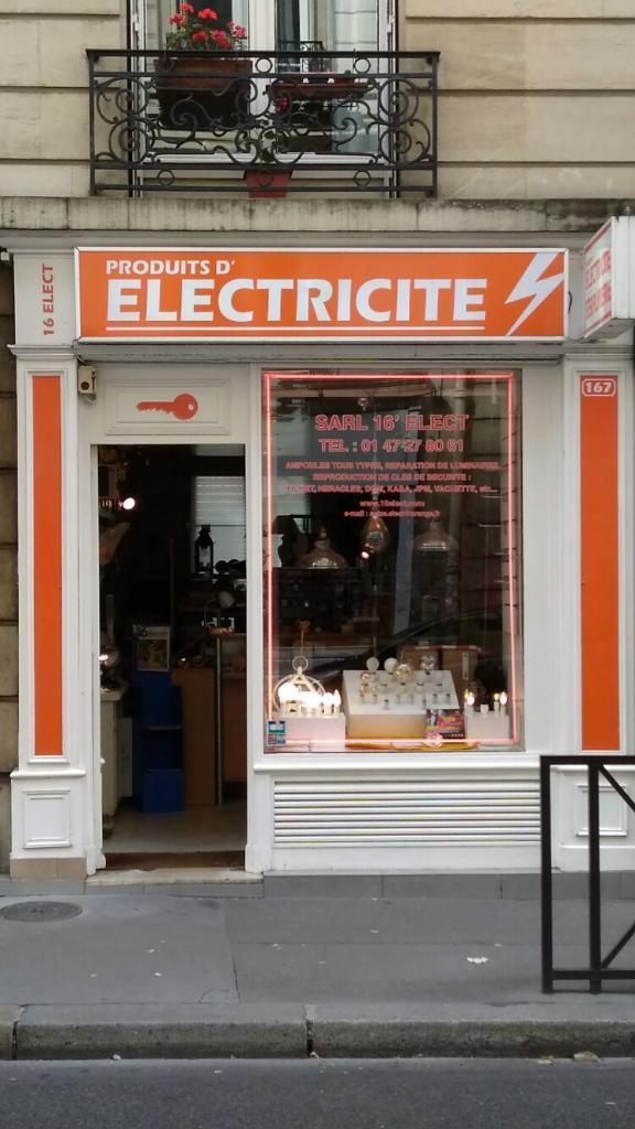 16 electricit entreprise d 39 lectricit g n rale 167 - Quincaillerie paris 16 ...