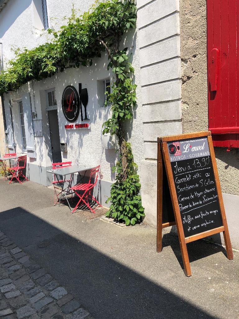 L Envol Restaurant 13 Rue Du Vieil Hopital 85330 Noirmoutier En L
