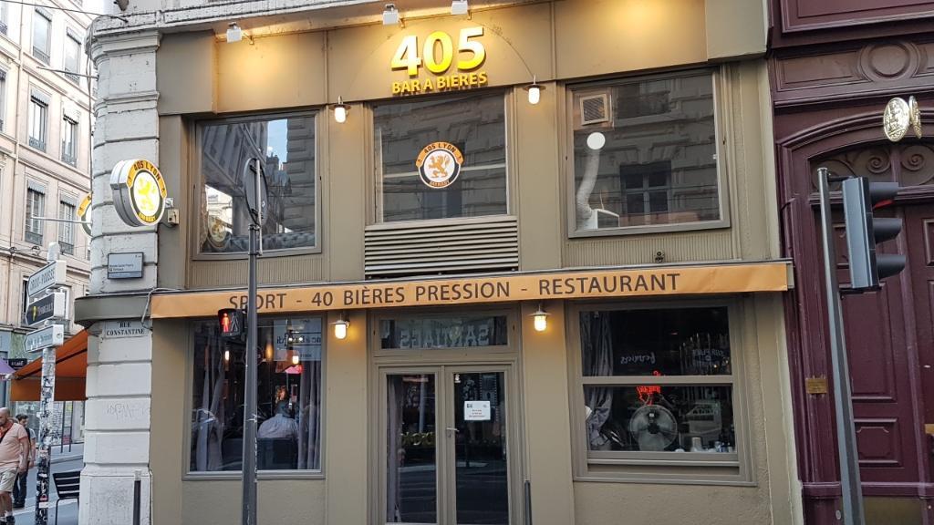 405 bar bi res restaurant 9 rue constantine 69001 for Garage lyon ouvert samedi