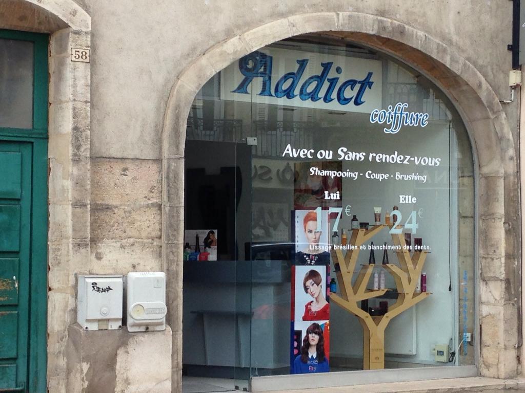 Addict Coiffure Coiffeur 58 Rue Monge 21000 Dijon Adresse Horaire