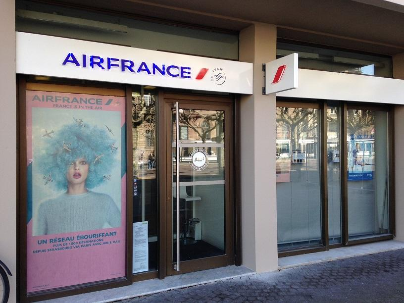 Air France Agence Strasbourg - Agence De Voyages  21 Place Broglie 67000 Strasbourg