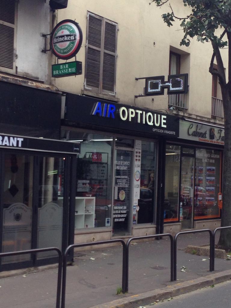 Air optique opticien 16 avenue paul vaillant couturier for Garage szumny vitry sur seine