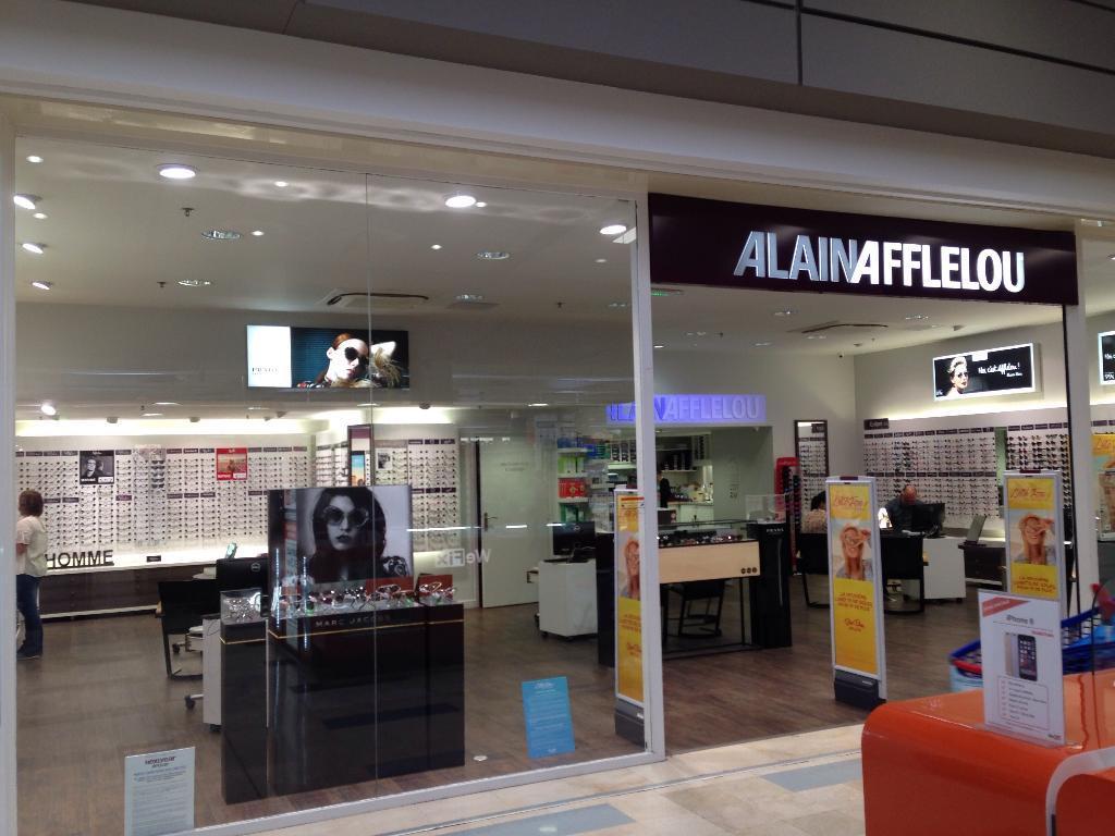 Alain afflelou opticien centre commercial la - Centre commercial cesson ...