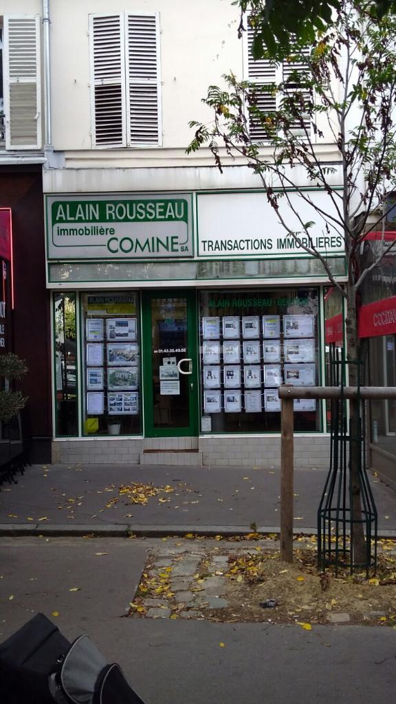 Alain rousseau immobili re comine agence immobili re 15 for Agence immobiliere 75014