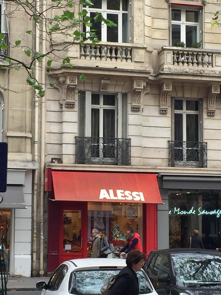 Alessi France Cadeaux 31 Boulevard Raspail 75007 Paris Adresse