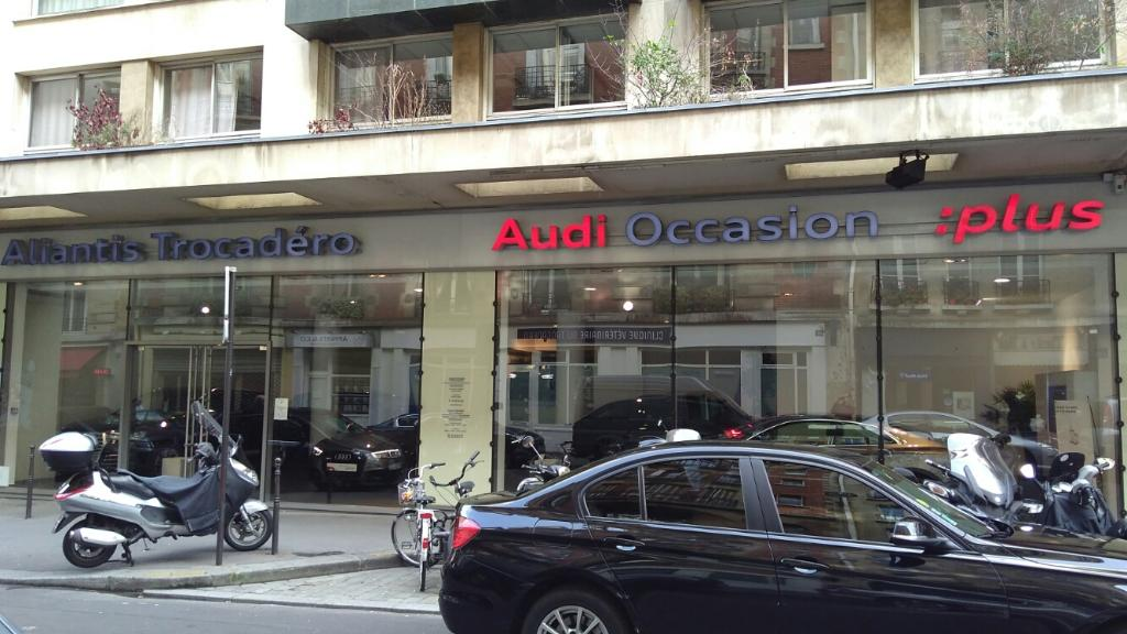 garage audi paris audi aliantis garage automobile 72 rue longchamp 75016 paris adresse horaire. Black Bedroom Furniture Sets. Home Design Ideas