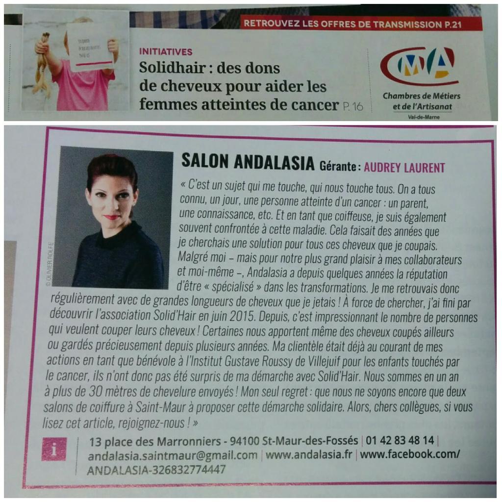 Andalasia coiffeur 13 place des marronniers 94100 saint for Garage place des marronniers saint maur