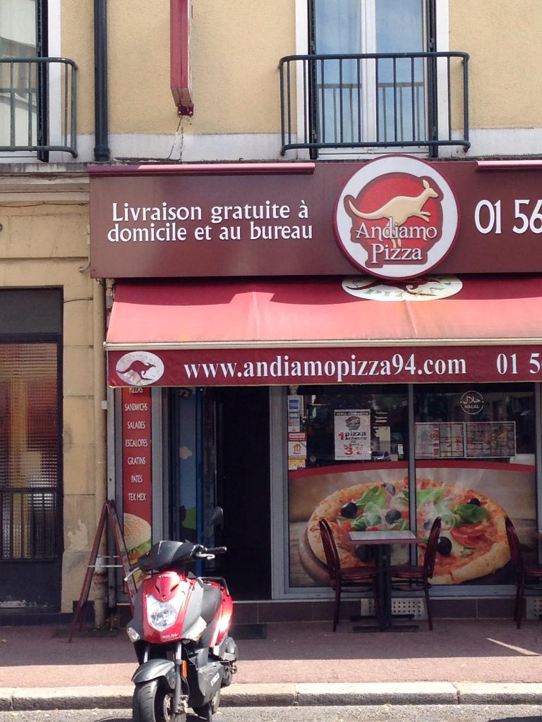 Andiamo pizza restaurant 53 avenue du g n ral de gaulle for 7 avenue du general de gaulle maison alfort