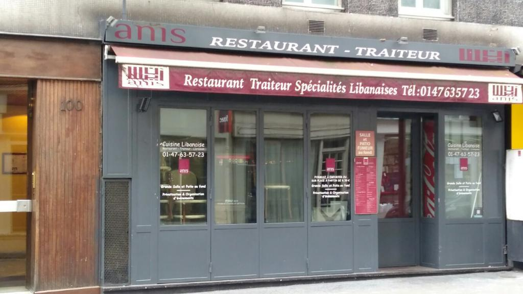 Anis restaurant 100 rue cardinet 75017 paris adresse for 5 rue belidor 75017 paris