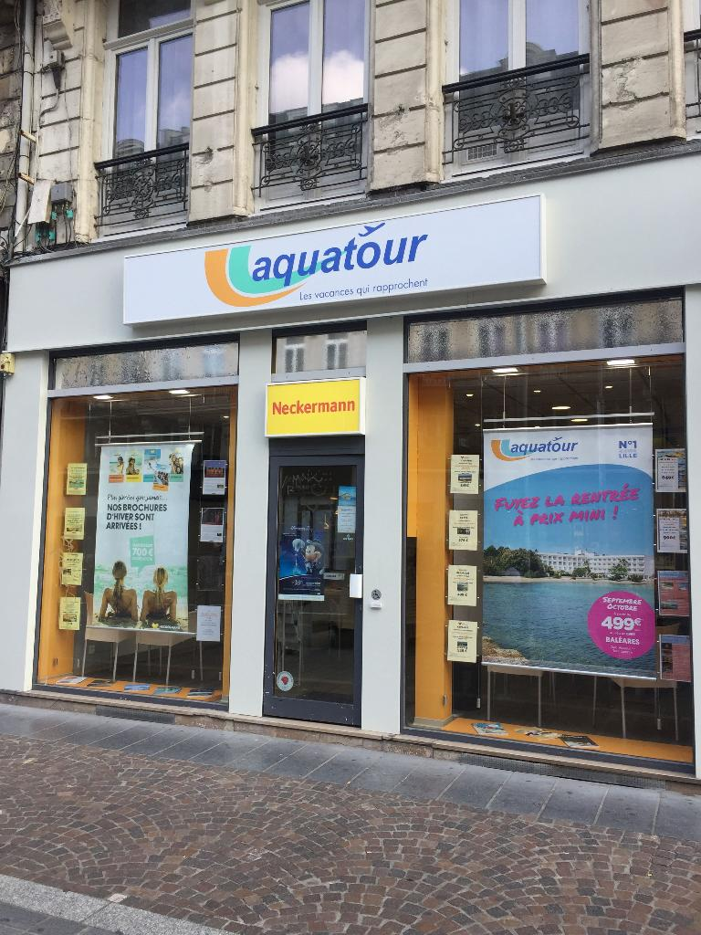 Aquatour Agence De Voyages 55 Rue Faidherbe 59000 Lille Adresse