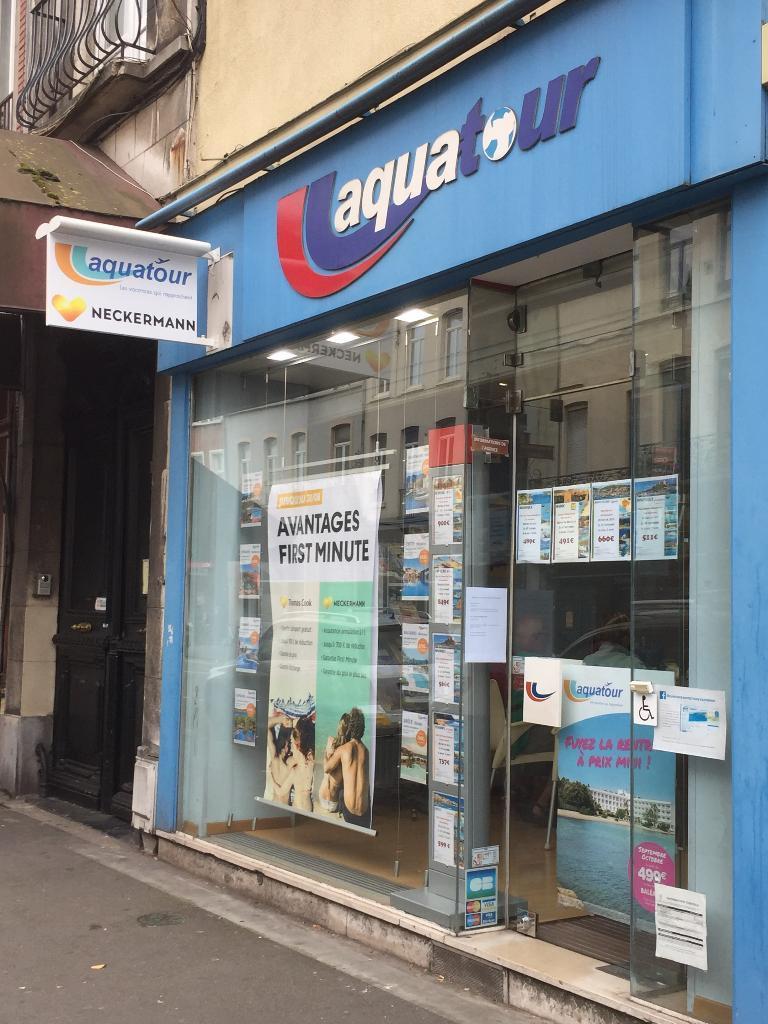Aquatour Agence De Voyages 194 Rue Solférino 59000 Lille