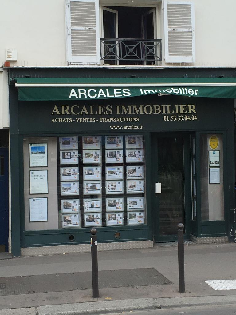 Arcales immobilier agence immobili re 181 rue du for Agence immobiliere 75011