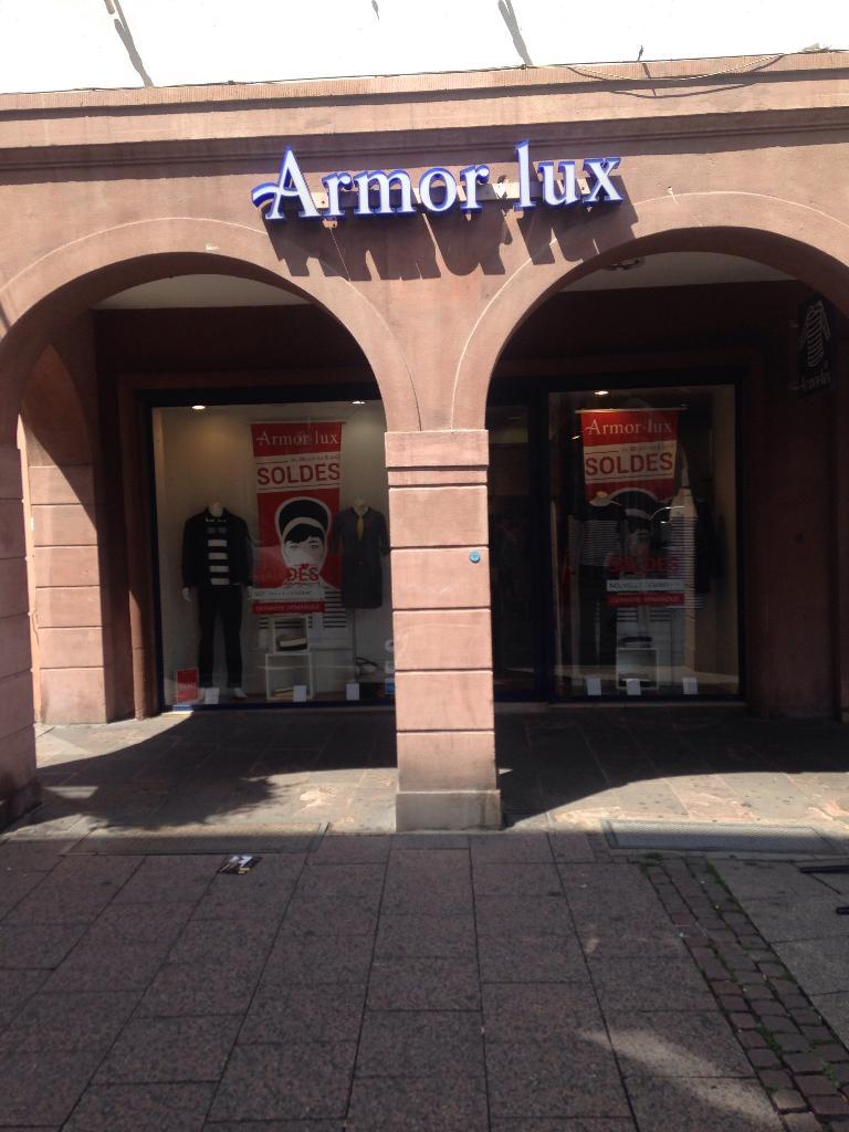 54fd57ee09 ARMOR-LUX STRASBOURG, 4 r Gutenberg, 67000 Strasbourg - Magasins de  vêtement (adresse)