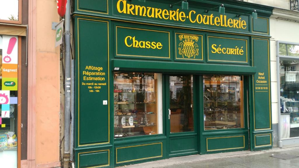 armurerie coutellerie de bretagne armurerie 9 place de bretagne 35000 rennes adresse horaire. Black Bedroom Furniture Sets. Home Design Ideas