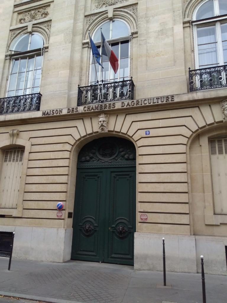 Assembl e permanente des chambres d 39 agriculture chambre - Chambres des metiers paris ...