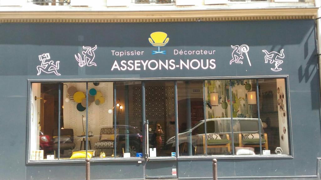 Asseyons nous tapissier d corateur 22 rue pierre - Tapissier decorateur paris ...