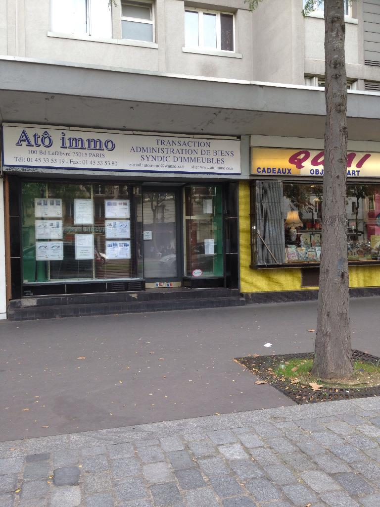 Ato immo agence immobili re 100 boulevard lefebvre for Agence immobiliere 47