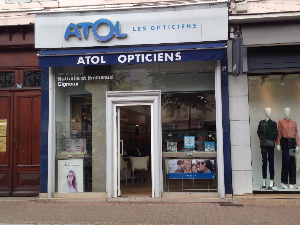 Atol les Opticiens - Opticien, 27 cours Romestang 38200 Vienne ... 625aa051f01e
