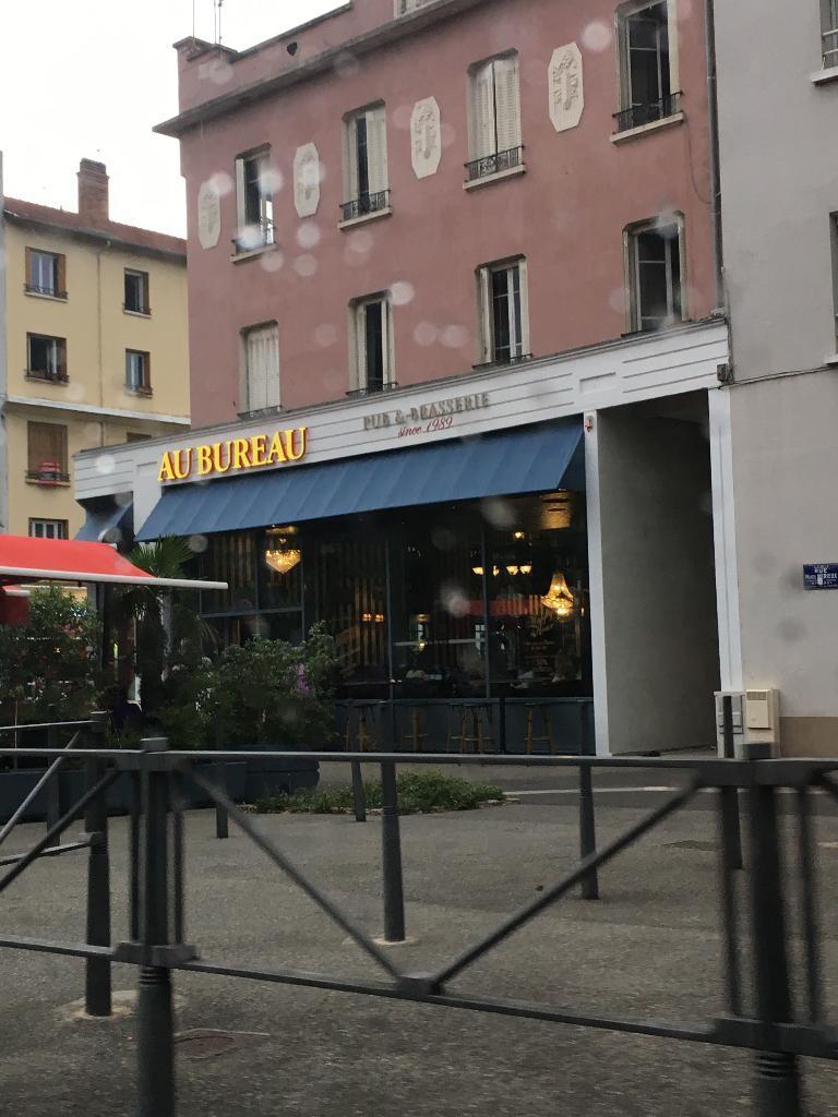 Au Bureau 243 R Marcel Merieux 69007 Lyon Restaurant