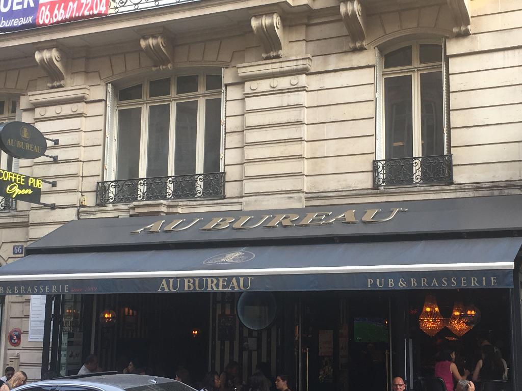 Au bureau restaurant rue pierre charron paris