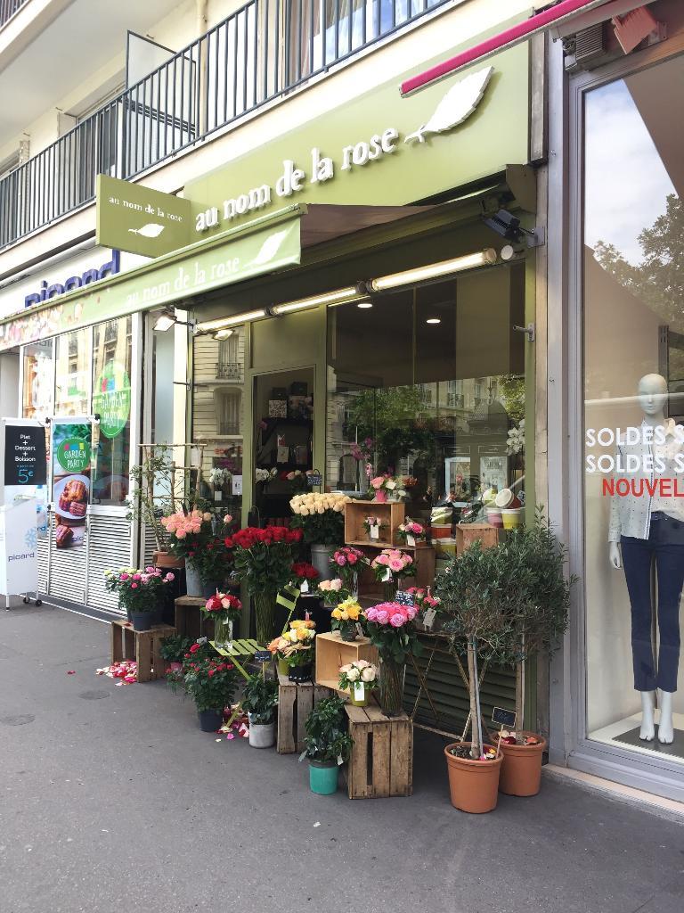 Au nom de la rose fleuriste 285 rue de vaugirard 75015 paris adresse horaire - Au nom de la rose fleuriste ...