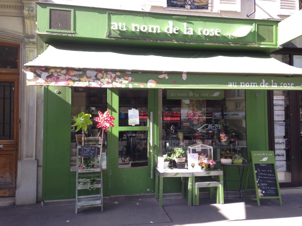 Au nom de la rose fleuriste 188 avenue de versailles 75016 paris adresse horaire - Au nom de la rose fleuriste ...