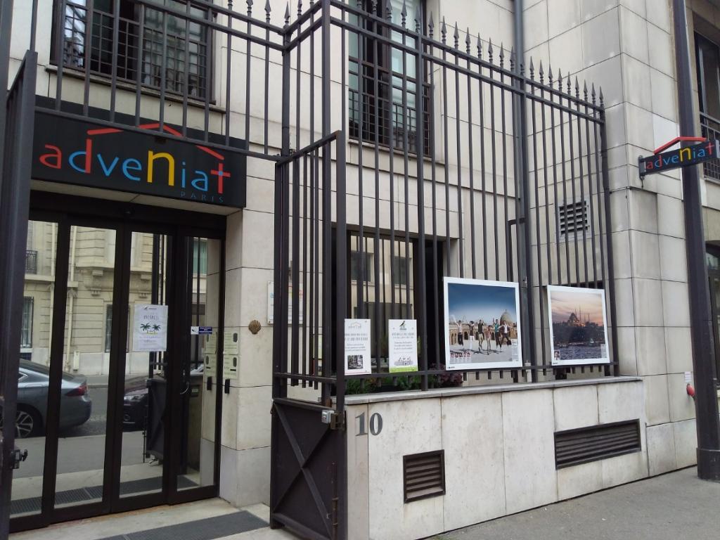 auberge adveniat - auberge de jeunesse, 10 rue françois 1er 75008