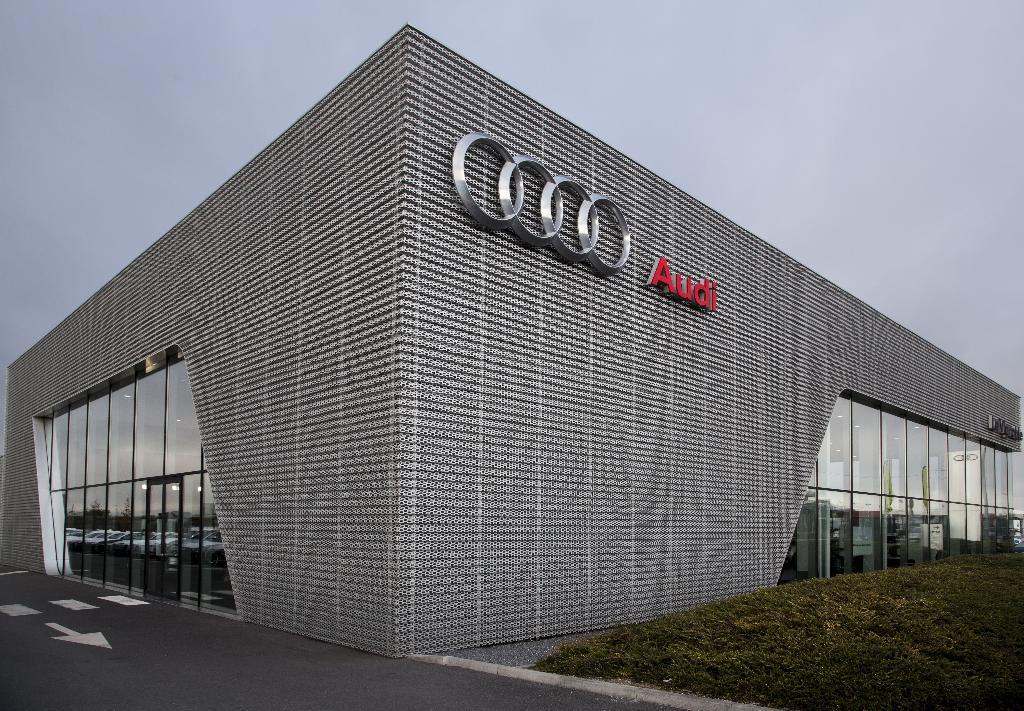 Audi le vignoble garage automobile 14 rue l na for Garage utilitaire reims